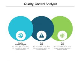 Quality Control Analysis Ppt Powerpoint Presentation Inspiration Show Cpb