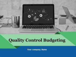 Quality Control Budgeting Powerpoint Presentation Slides