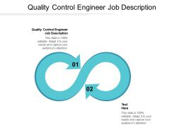 Quality Control Engineer Job Description Ppt Powerpoint Presentation Pictures Microsoft Cpb