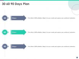 Quality Control Engineering 30 60 90 Days Plan Ppt Powerpoint Professional Graphic Images