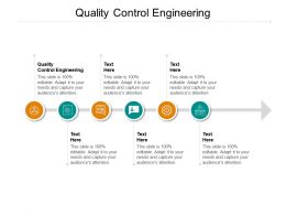 Quality Control Engineering Ppt Powerpoint Presentation Infographic Template Skills Cpb