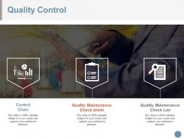 Quality Control Example Ppt Presentation