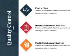 Quality Control Powerpoint Slide Background Picture