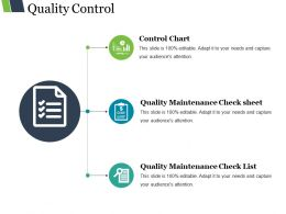 Quality Control Ppt Background Images