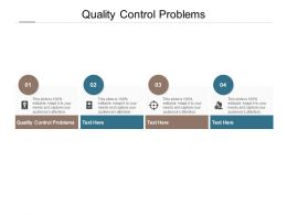 Quality Control Problems Ppt Powerpoint Presentation Show Guide Cpb