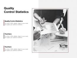 Quality Control Statistics Ppt Powerpoint Presentation Ideas Outfit Cpb