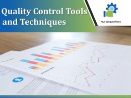 Quality Control Tools And Techniques Powerpoint Presentation Slides