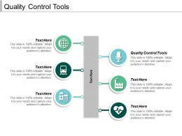 Quality Control Tools Ppt Powerpoint Presentation Gallery Brochure Cpb
