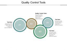 Quality Control Tools Ppt Powerpoint Presentation Model Files Cpb