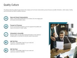 Quality Culture Accessible M2289 Ppt Powerpoint Presentation Icon Brochure