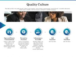 Quality Culture Processes Ppt Powerpoint Presentation Icon Background