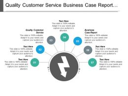 Quality Customer Service Business Case Report Business Leadership Skills Cpb
