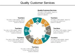 Quality Customer Services Ppt Powerpoint Presentation Inspiration Deck Cpb
