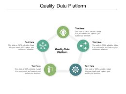Quality Data Platform Ppt Powerpoint Presentation Ideas Structure Cpb
