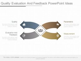 Quality Evaluation And Feedback Powerpoint Ideas