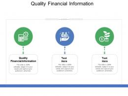 Quality Financial Information Ppt Powerpoint Presentation Pictures Shapes Cpb