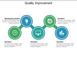 Quality Improvement Ppt Powerpoint Presentation Portfolio Structure Cpb