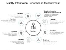 Quality Information Performance Measurement Ppt Slides Cpb