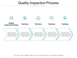 Quality Inspection Process Ppt Powerpoint Presentation Graphics Cpb
