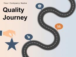 Quality Journey Roadmap Corporate Organizations Process Improvement Optimization Assurance