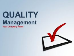 quality_management_assurance_focus_and_approach_complete_powerpoint_deck_Slide01