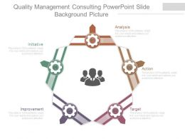 Quality Management Consulting Powerpoint Slide Background Picture
