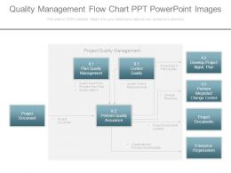 Quality Management Flow Chart Ppt Powerpoint Images
