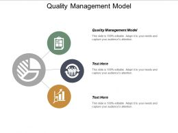 Quality Management Model Ppt Powerpoint Presentation Infographic Template Examples Cpb