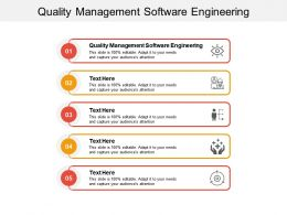 Quality Management Software Engineering Ppt Powerpoint Presentation Summary Inspiration Cpb