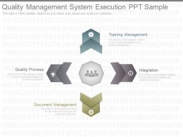 Quality Management System Execution Ppt Sample