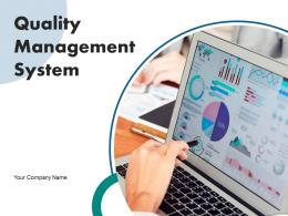 Quality Management System Measure Requirements Leadership Engagement Process Improvement Gear
