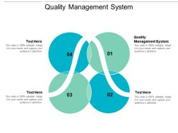 Quality Management System Ppt Powerpoint Presentation Infographics Graphics Tutorials Cpb