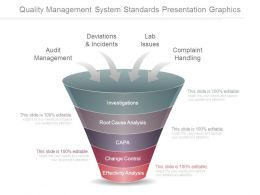 Quality Management System Standards Presentation Graphics