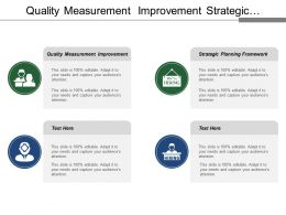 Quality Measurement Improvement Strategic Planning Framework Cooperative Network