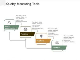 Quality Measuring Tools Ppt Powerpoint Presentation Inspiration Examples Cpb