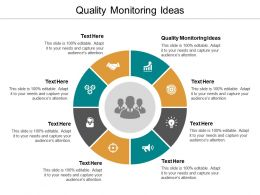Quality Monitoring Ideas Ppt Powerpoint Presentation Show Introduction Cpb