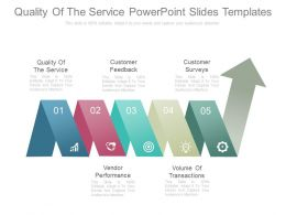 Quality Of The Service Powerpoint Slides Templates