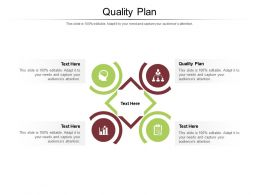 Quality Plan Ppt Powerpoint Presentation Icon Visual Aids Cpb