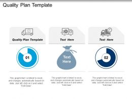 Quality Plan Template Ppt Powerpoint Presentation Gallery Design Inspiration Cpb