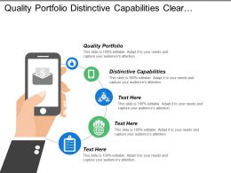 Quality Portfolio Distinctive Capabilities Clear Priorities Global Derivatives