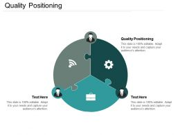 Quality Positioning Ppt Powerpoint Presentation Icon Graphics Download Cpb