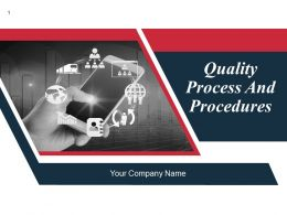 Quality Process And Procedures Powerpoint Presentation Slide