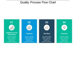 Quality Process Flow Chart Ppt Powerpoint Presentation Icon Format Cpb