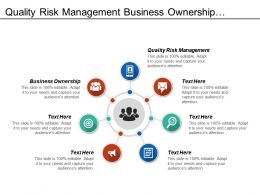 Quality Risk Management Business Ownership Business Training Facility Development Cpb