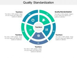 Quality Standardization Ppt Powerpoint Presentation Styles Introduction Cpb