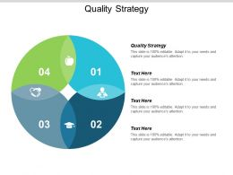 Quality Strategy Ppt Powerpoint Presentation Show Information Cpb