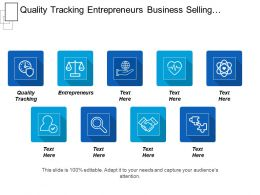 Quality Tracking Entrepreneurs Business Selling Performance Management Process Cpb