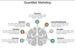 Quantified Marketing Ppt Powerpoint Presentation Professional Inspiration Cpb