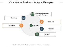 Quantitative Business Analysis Examples Ppt Powerpoint Presentation Infographic Template Cpb