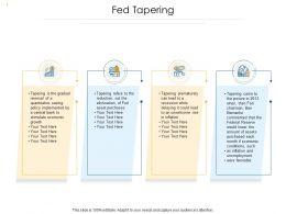 Quantitative Easing Fed Tapering Quantitative Easing Ppt Powerpoint Presentation Infographics